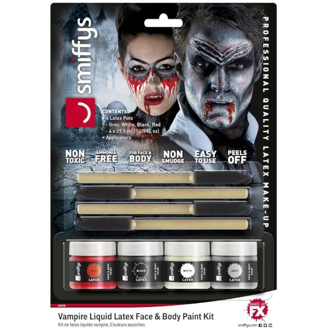 Make-up party Halloween - Demoniczny Wampir SMIFFYS zestaw