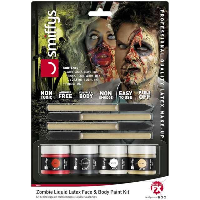 """Make-up party """"Halloween - Krwawe Zombie"""", SMIFFYS, zestaw"""