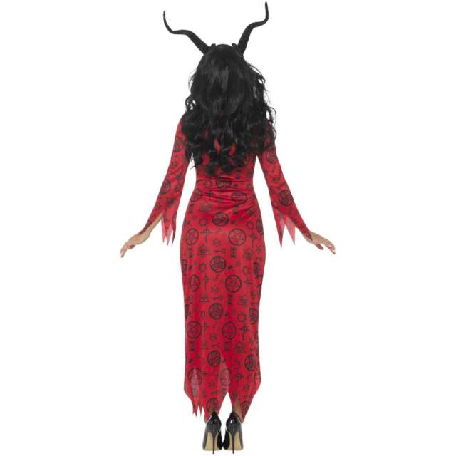 _xx_Occult Devil Costume Red with Dress L