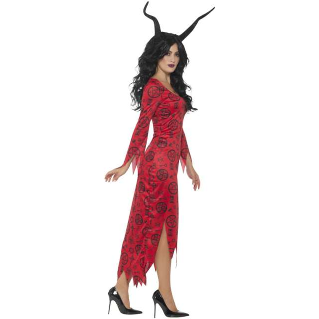 _xx_Occult Devil Costume Red with Dress M