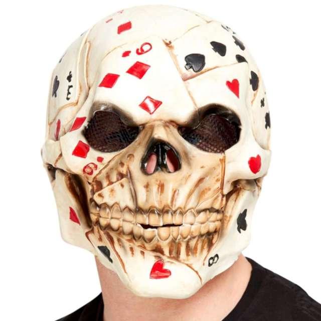 Maska Szkielet Pokerzysta lateksowa Smiffys