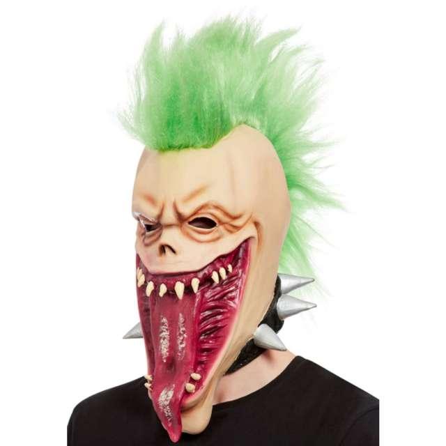 Maska Potwór Punk lateksowa Smiffys
