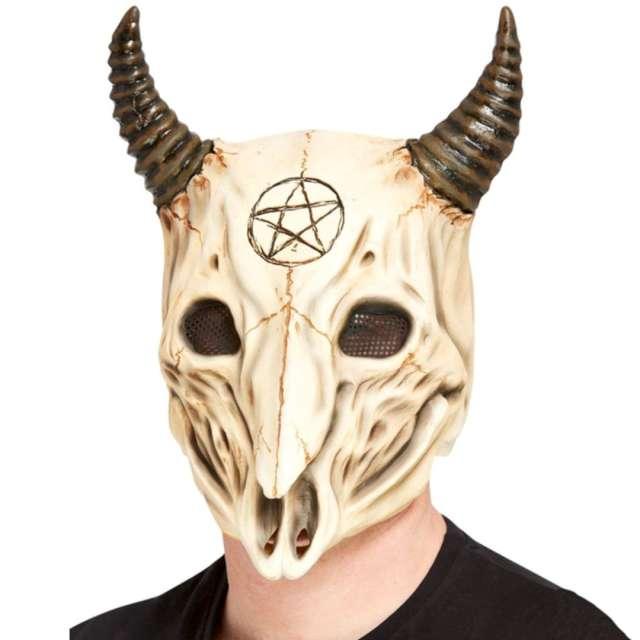 """Maska """"Szatański Kozioł"""", lateksowa, Smiffys"""
