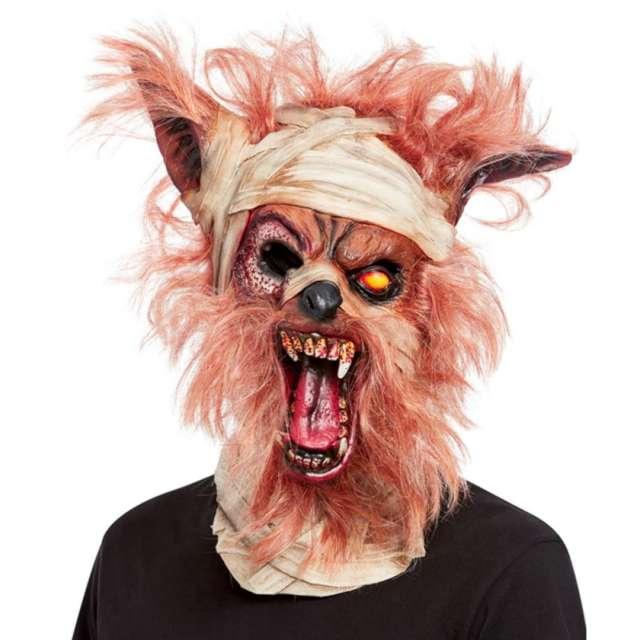 """Maska """"Wilkołak"""", wielokolorowa, lateksowa, Smiffys"""