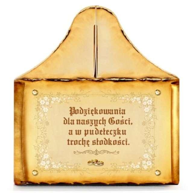 Pudełko na ciasto Słodkie Podziękowanie - Gotyk DekoracjePolska 5 szt.