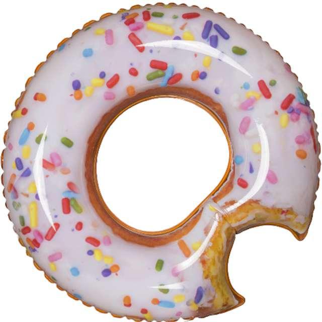 Koło do pływania Nadgryziony Donut kolorowy Out of The Blue