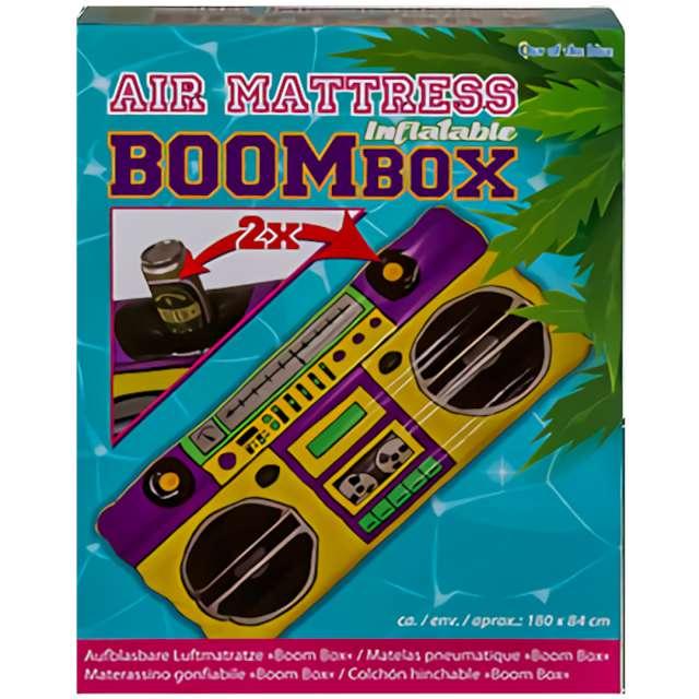 Materac do pływania Boombox - 2 miejsca na napoje Out of the Blue 180 cm