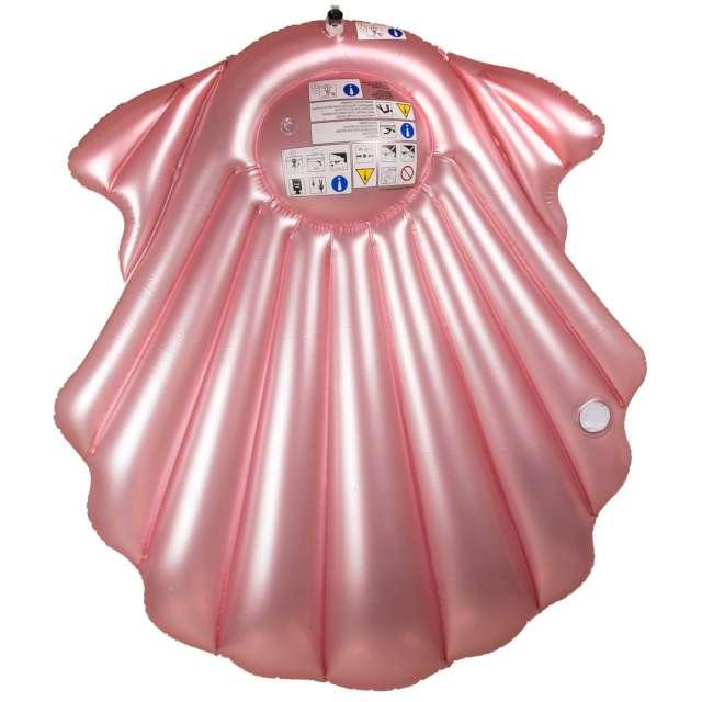 Materac do pływania Perłowa Muszla z miejscem na napój Out of the Blue 154 x 137 cm