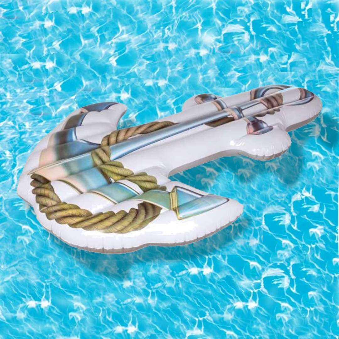 Materac do pływania Kotwica Classic Out of the Blue 180 x 140 cm
