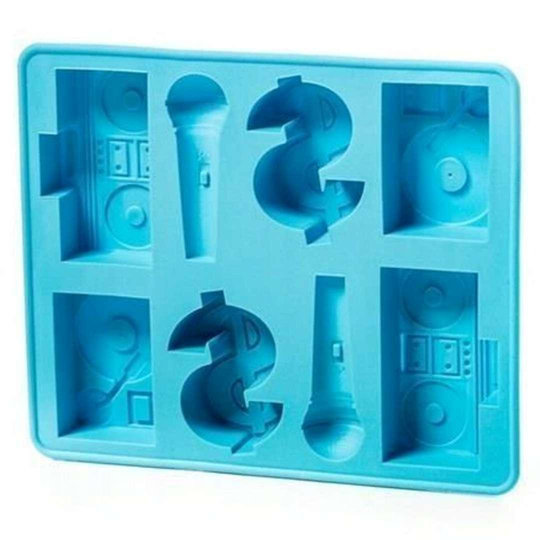 "Foremka na lód ""Hip-Hop"", niebieska, GadgetMaster"