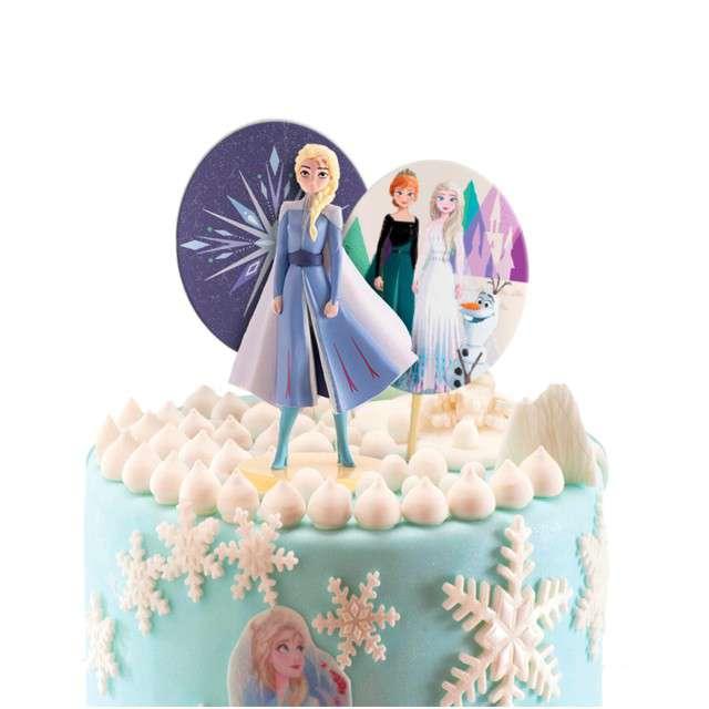Figurka na tort Kraina lodu - Elsa zestaw Dekora