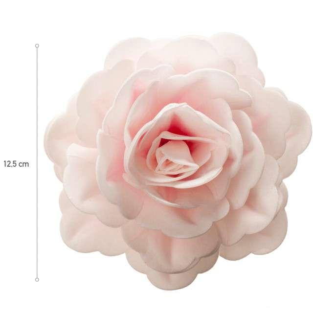Dekoracja na tort Kwiat - Róża różowa Dekora 125 cm