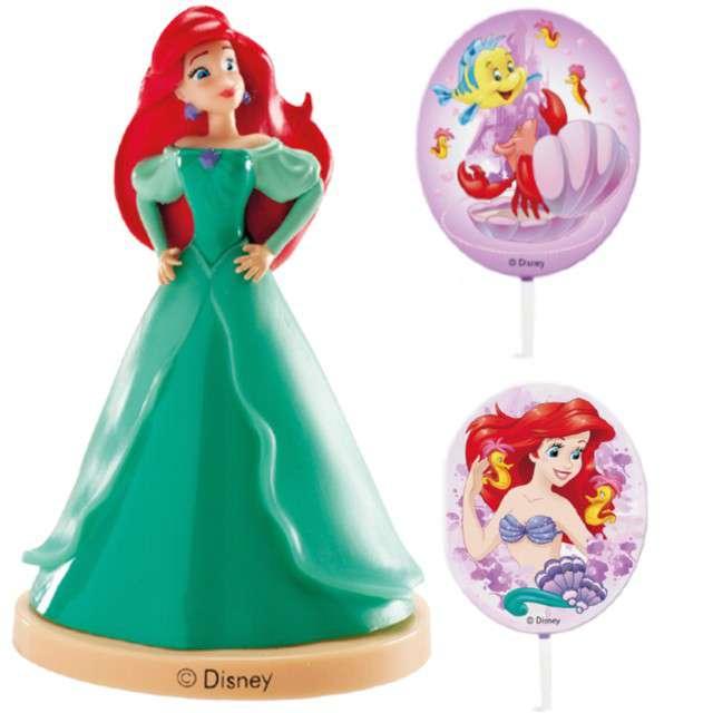 "Figurka na tort ""Księżniczka Ariel"", zielona, Dekora, 8,5 cm"