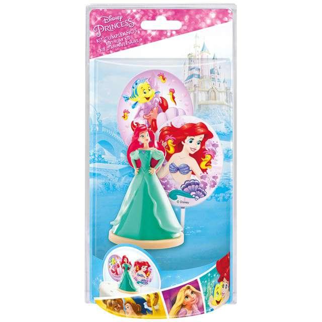 Figurka na tort Księżniczka Ariel zielona Dekora 85 cm