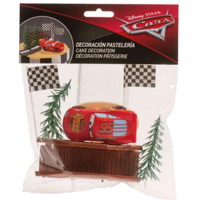 Figurka na tort Cars-Auta zestaw Dekora