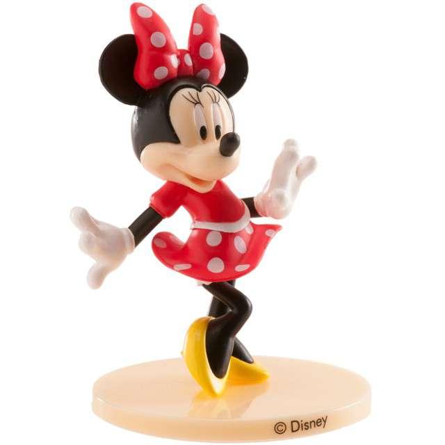 """Figurka na tort """"Myszka Minnie"""", kolorowa, Dekora, 9 cm"""