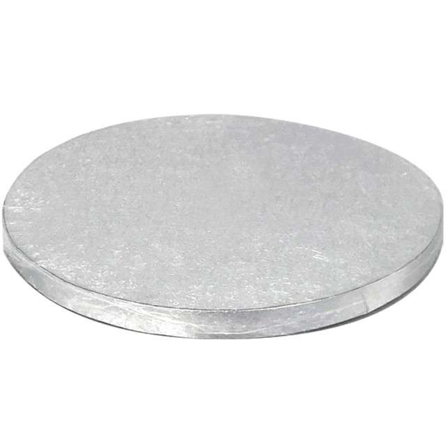 Podkład pod tort Tort  XXL srebrny Dekora 45 cm