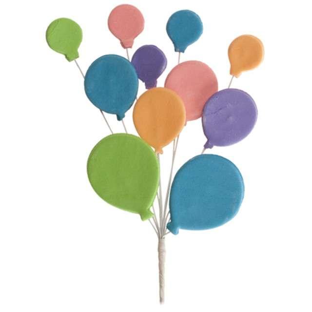 "Figurka na tort ""Kolorowe balony"", Dekora, 26 cm"