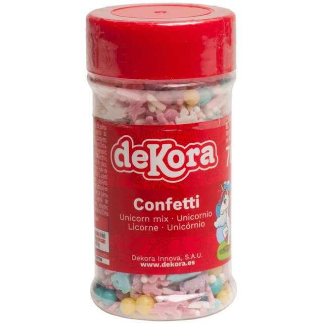 Posypka cukrowa Słodki jednorożec mix DeKora 70 g
