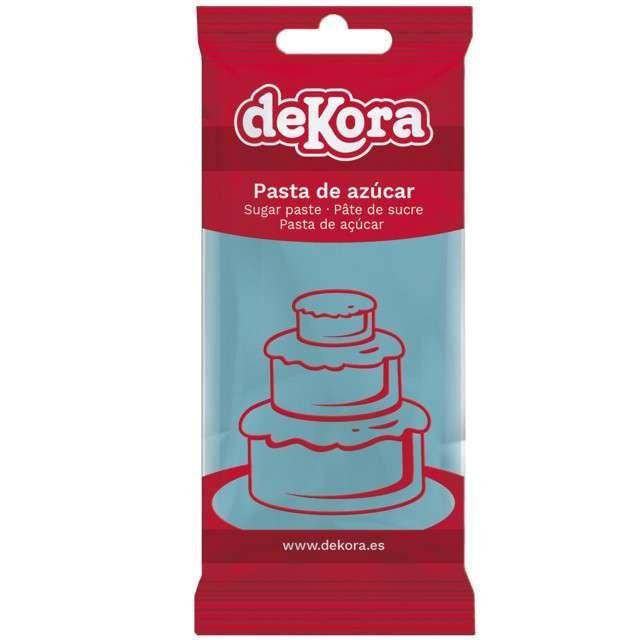 Lukier plastyczny Masa cukrowa - niebieska DeKora 250 g