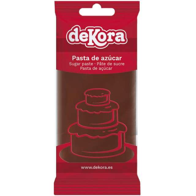 Lukier plastyczny Masa cukrowa - brązowa DeKora 250 g