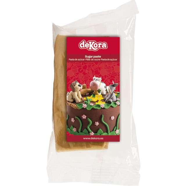 Lukier plastyczny Masa cukrowa - złota DeKora 100 g