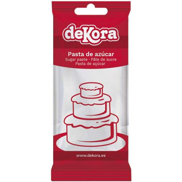 Lukier plastyczny Masa cukrowa - biała DeKora 250 g