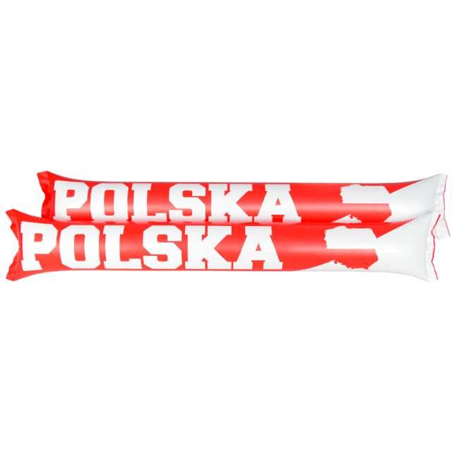 """Pałeczki dmuchane """"Kibic szaleje - Polska Mix"""" Arpex, 2 szt"""
