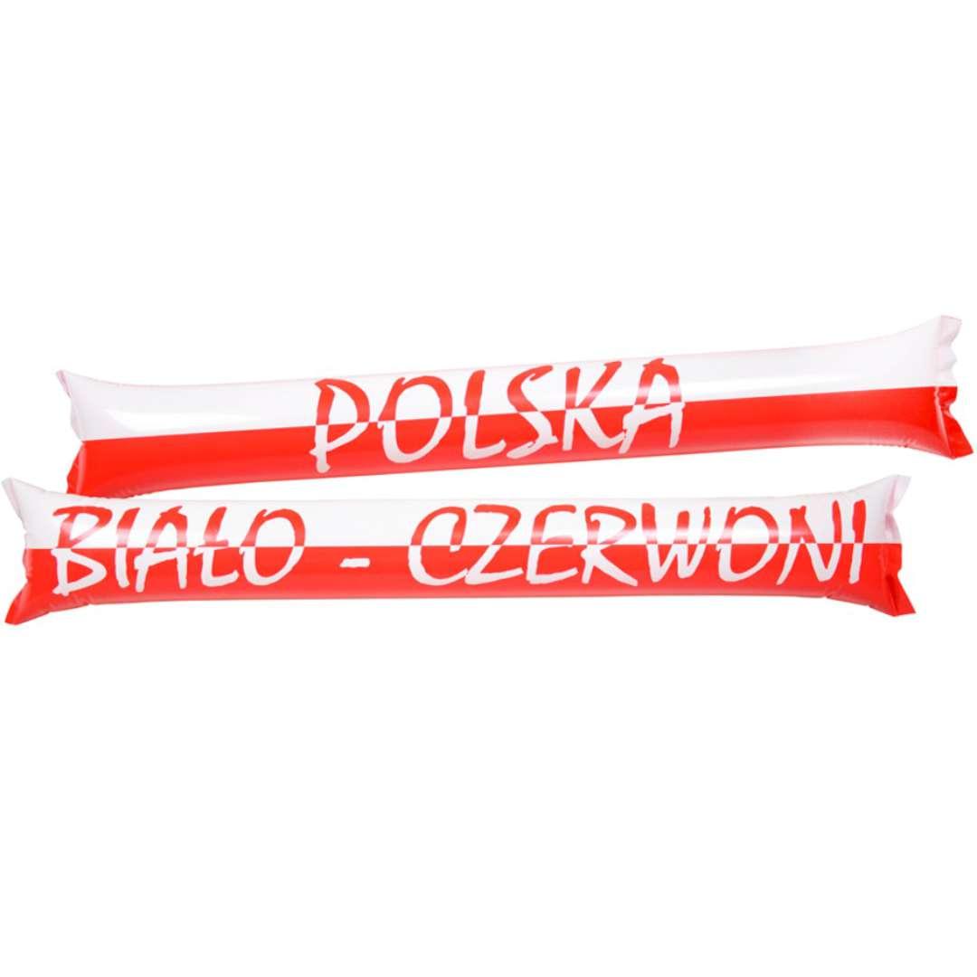 Pałeczki dmuchane Kibic szaleje - Polska Mix Arpex 2 szt