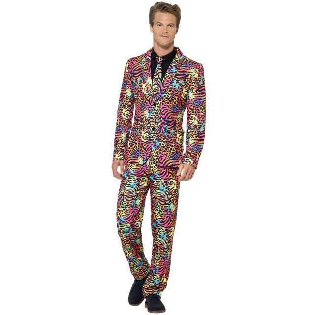 """Strój dla dorosłych """"Fluorescencyjny garnitur"""", neonowy, XL"""
