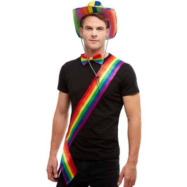 Szarfa Rainbow tęczowa Smiffys