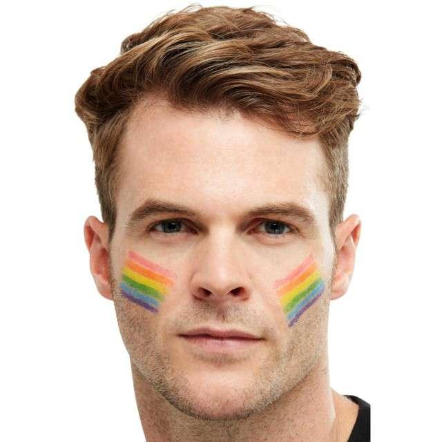 """Make-up party """"Rainbow - Farbki"""", mix w sztyfcie, Smiffys"""