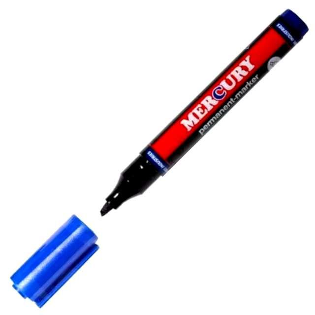"""Marker """"MERCURY 90 - niebieski"""", suchościeralny ścięty"""