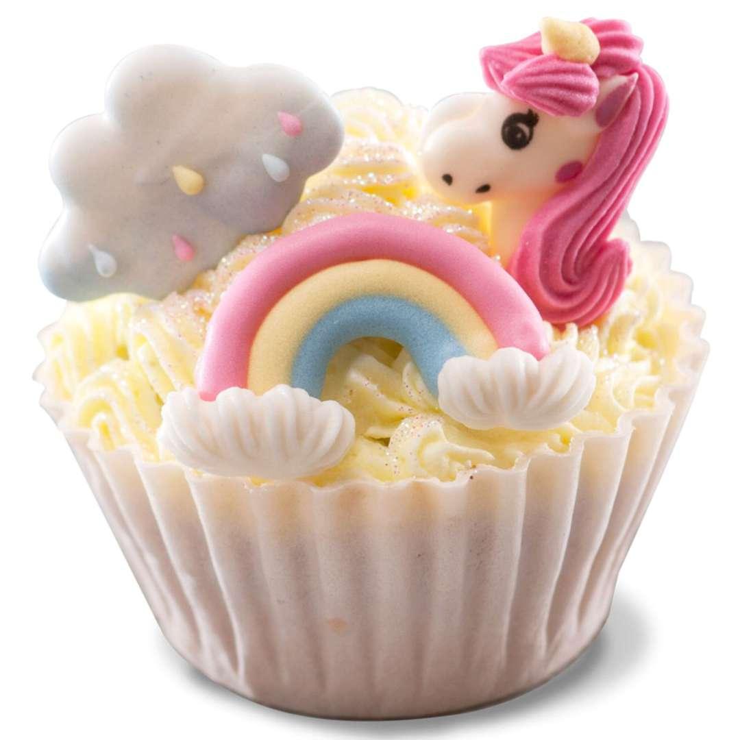 Dekoracja na Muffinki Cukrowy Jednorożec mix Dekora 8 szt