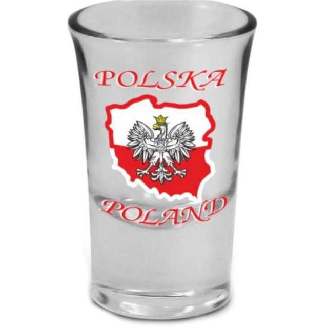 """Kieliszek do wódki """"Polska - orzeł"""", BGtech, 35 ml"""