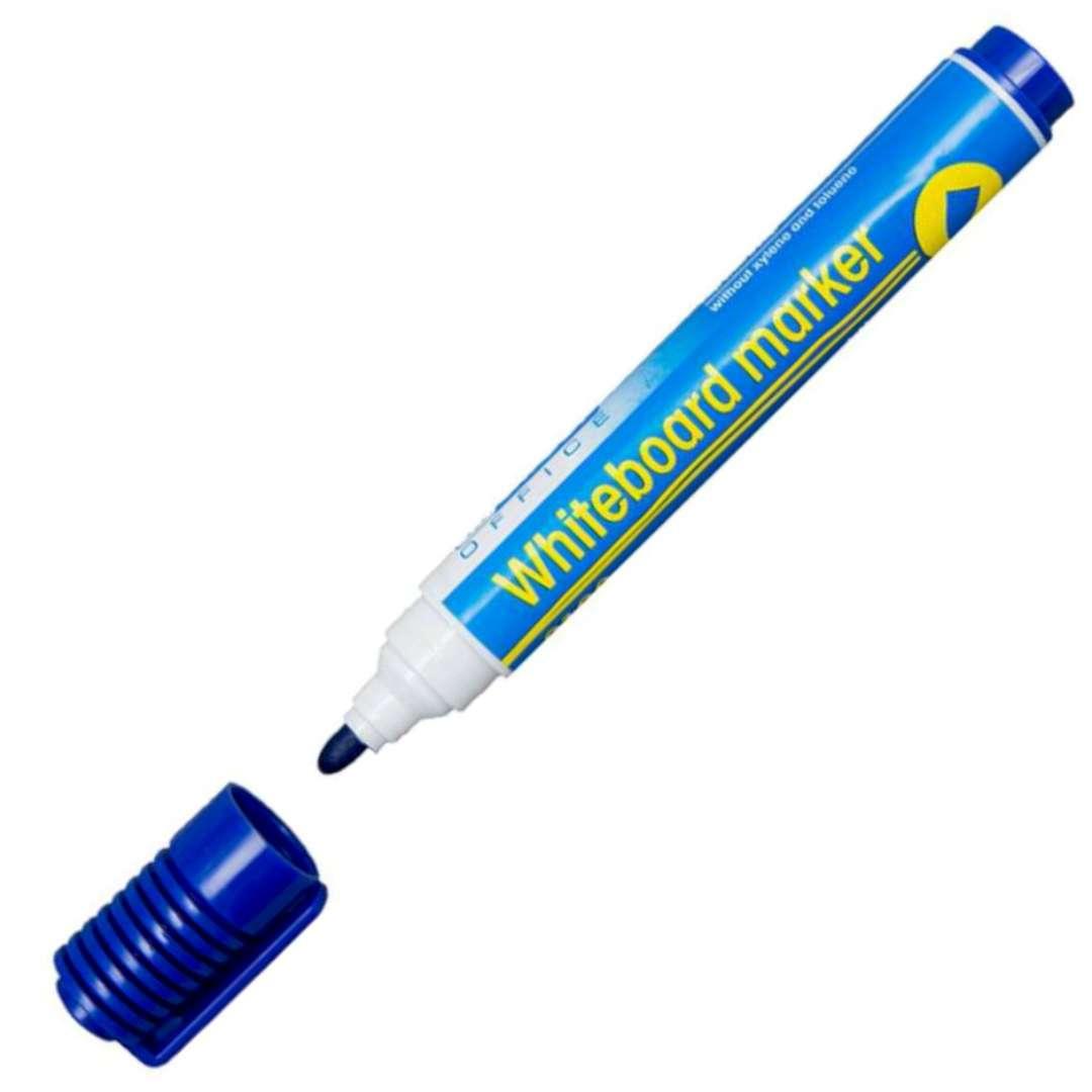 """Marker suchościeralny """"Whiteboard marker"""", niebieski, D.RECT, 1-3 mm"""