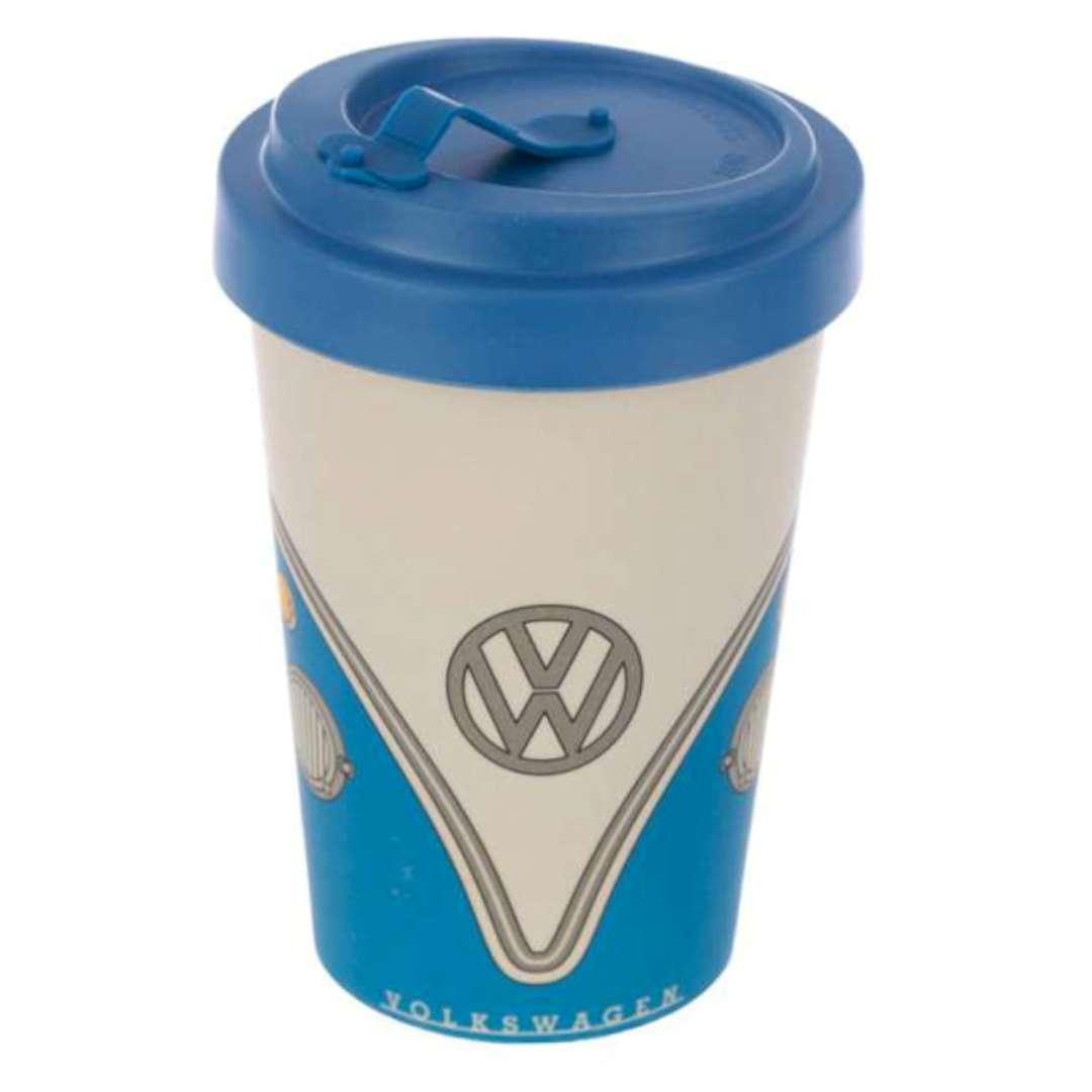 Kubek Bambusowy EKO - Volkswagen niebieski 400 ml Puckator