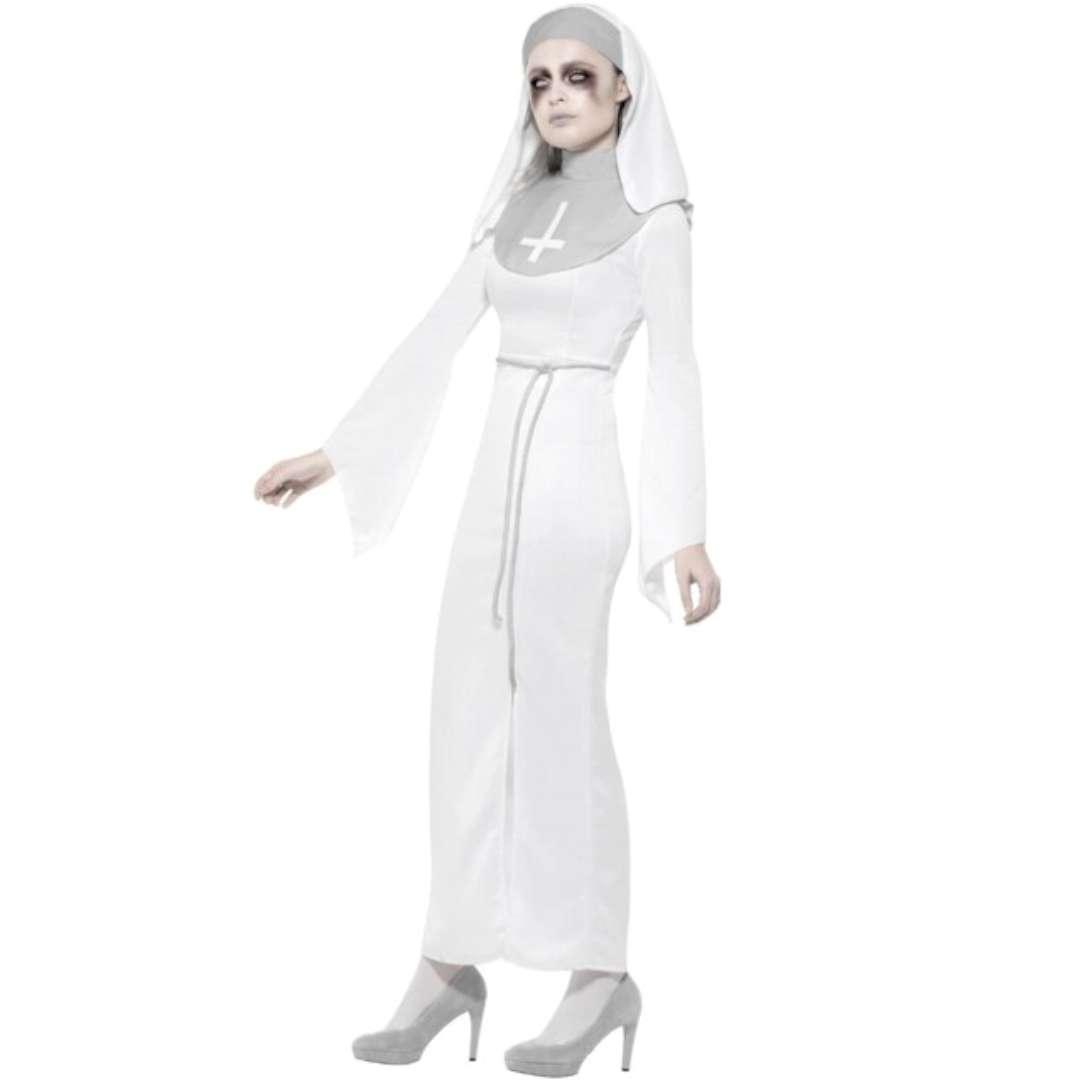 Strój dla dorosłych Nawiedzona zakonnica Smiffys M