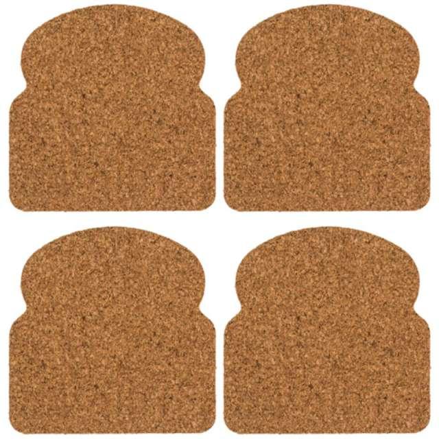 Podkładki Korkowe tosty OOTB 4 szt