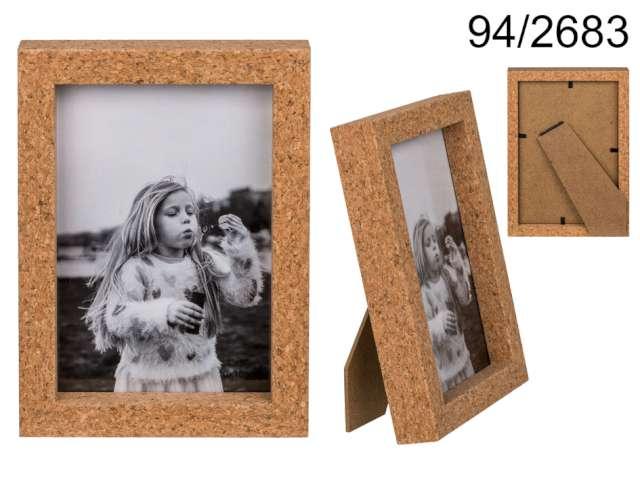 Ramka na zdjęcia Korkowa - retro Kemiś 10 x 15 cm