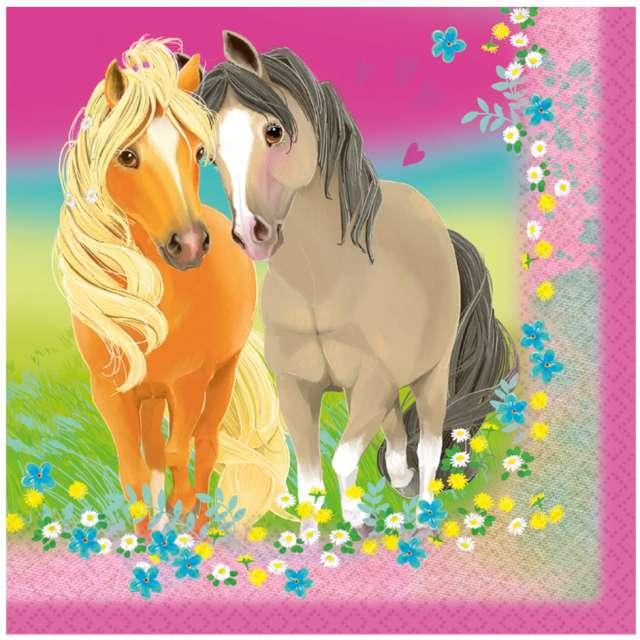 Serwetki Pretty pony Amscan 33 cm 20 szt