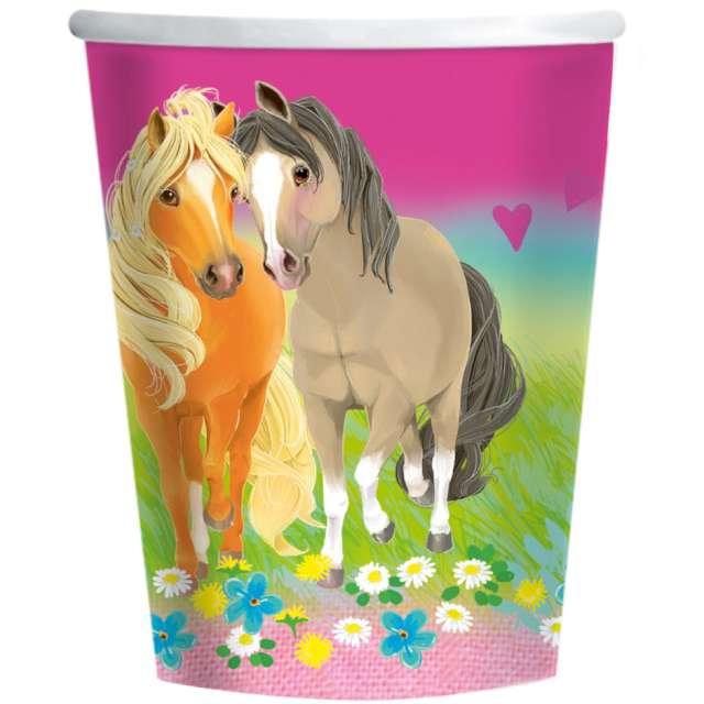 Kubeczki papierowe Pretty Pony Amscan 250 ml 8 szt