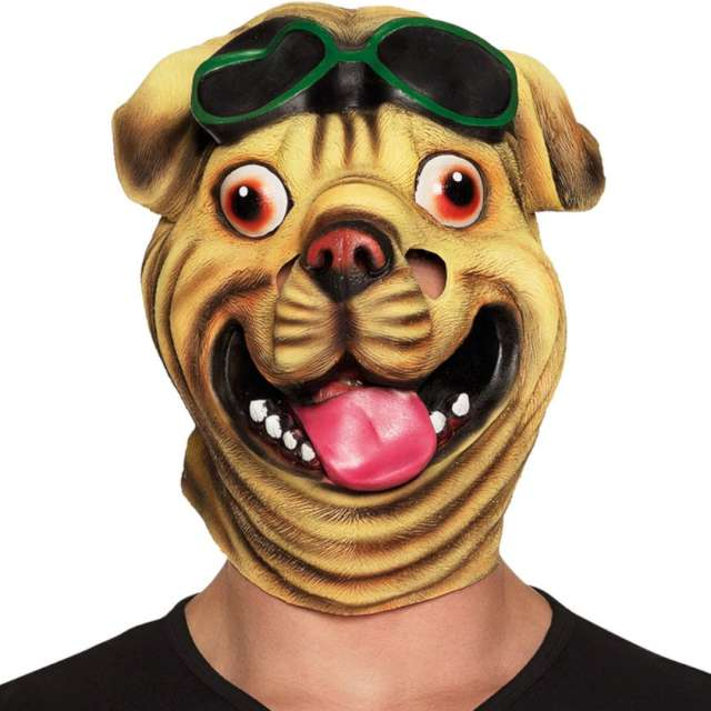 _xx_Maska z lateksem Bulldog