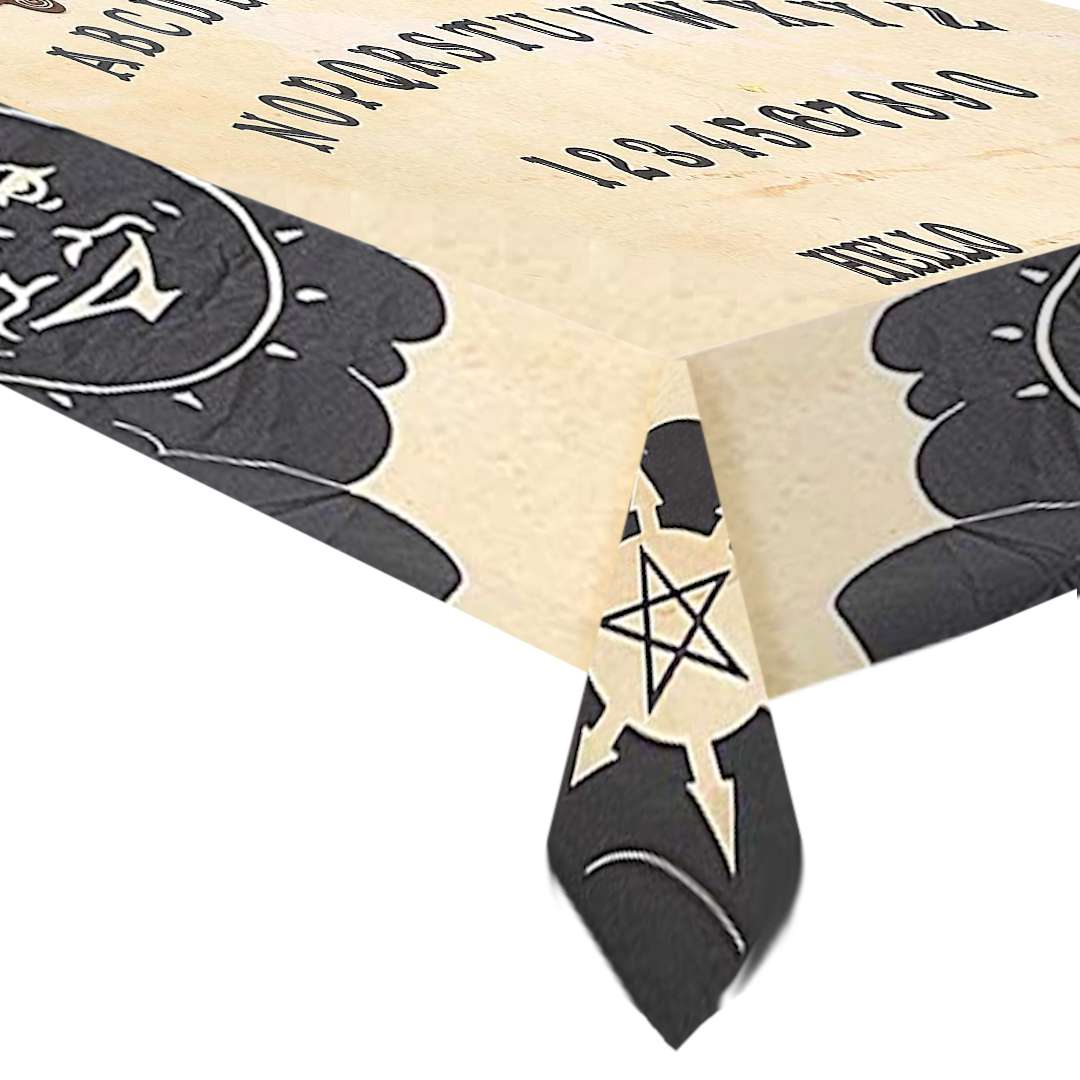 "Obrus ""Tablica Ouija"", Smiffys, 195 x 115 cm"