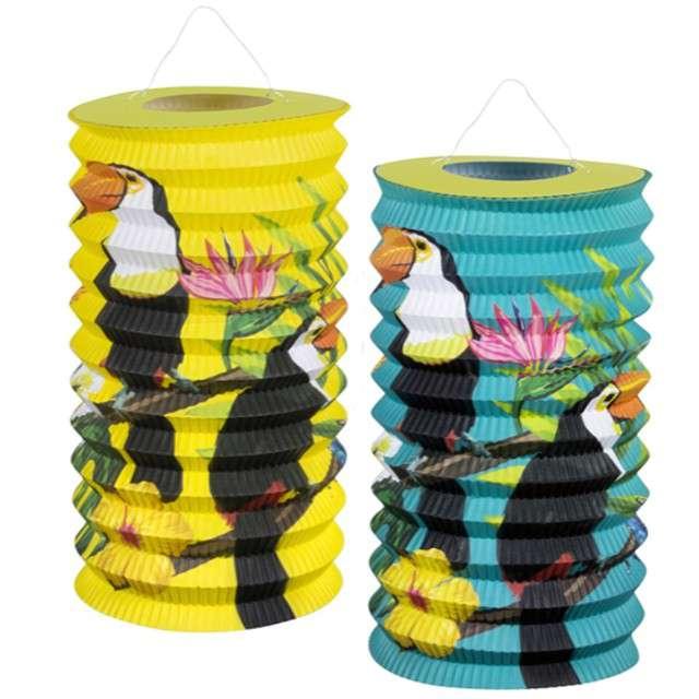 "Lampion papierowy ""Tukan"", Godan, 16 cm, 2 szt."