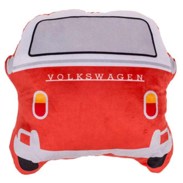 _xx_Dekoracyjna poduszka VWT1 Bus czerwona