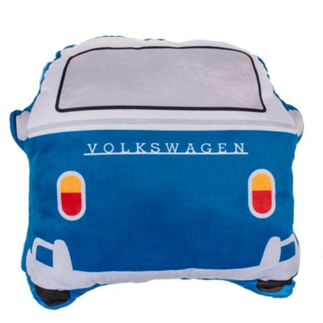 _xx_Dekoracyjna poduszka VWT1 Bus niebieska