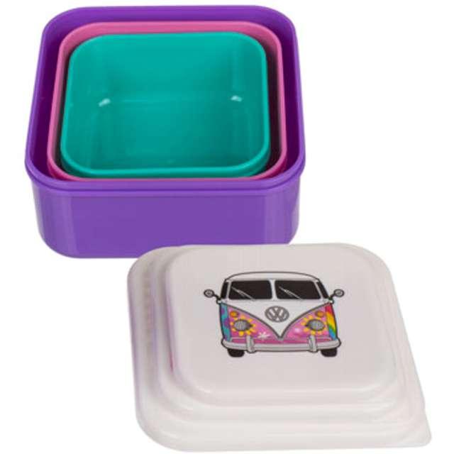 Pudełko na lunch VWT1 Bus Summer Love mix Kemiś 3 szt