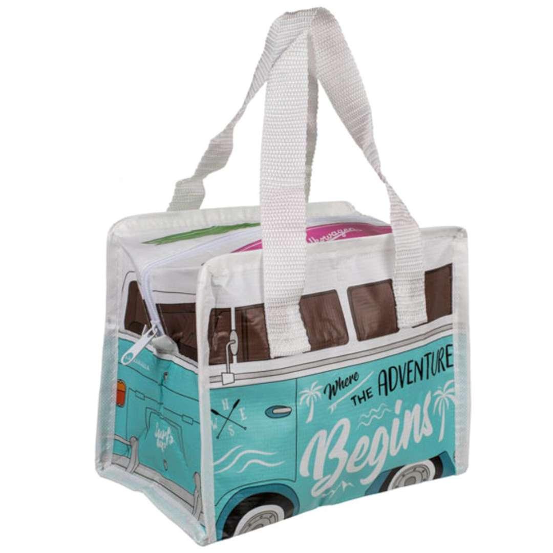 Torba na lunch VWT1 Bus - Summer Bus Surf Adventure Kemiś 21x16 cm