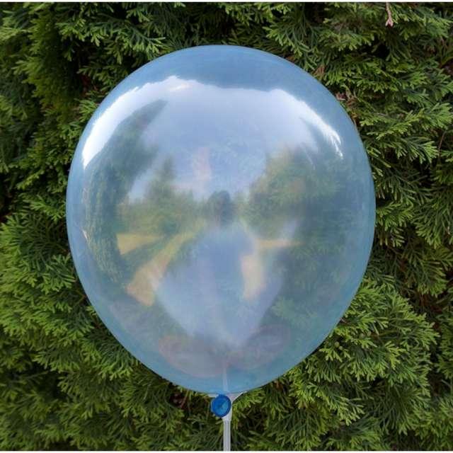 Balony Crystal niebieskie Dekoracje Polska 12 5 szt
